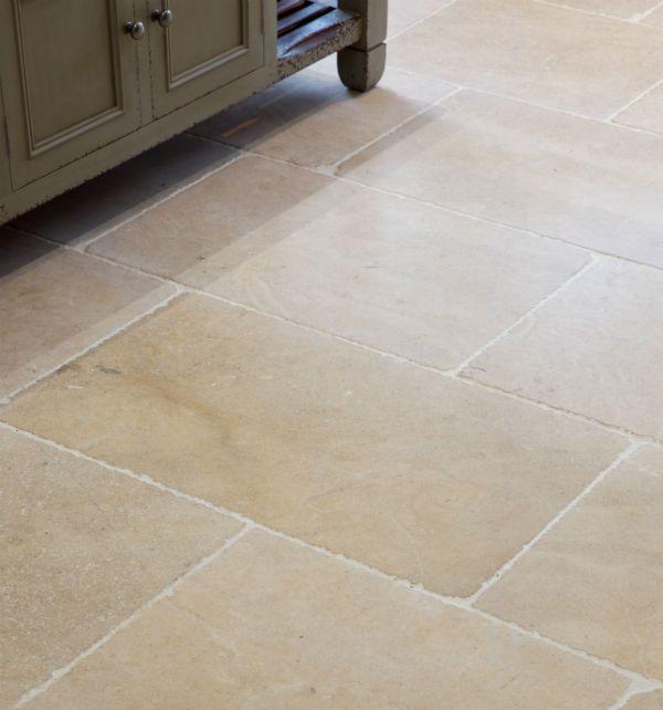 Calcot Limestone In A Tumbled Finish Beautiful Rustic Floor Tiles