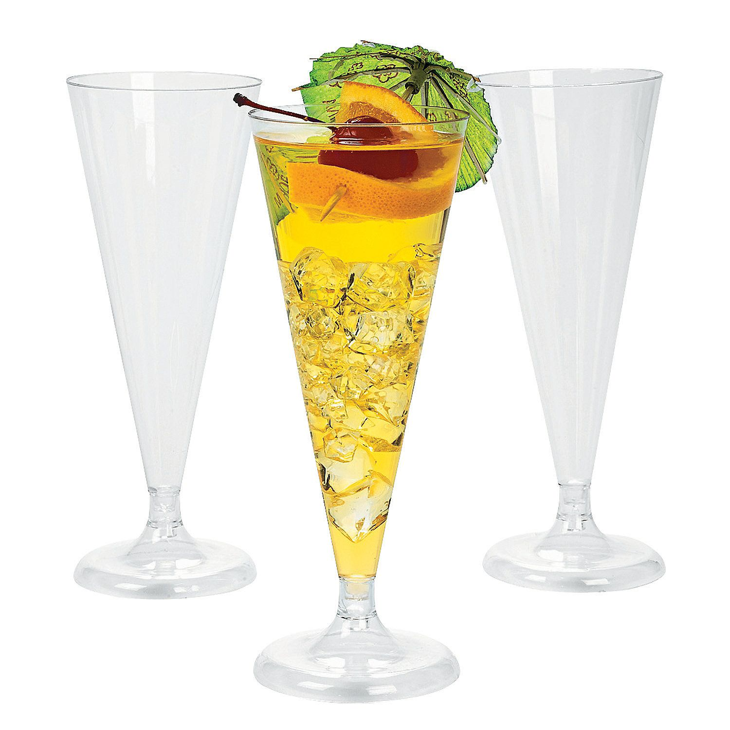 Clear Champagne Flutes These Clear Champagne Flutes are
