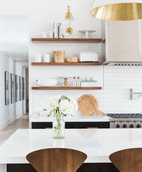 Pinmaura Penzone On First Floor Renovation  Pinterest Cool Kitchen Shelves Design Design Decoration