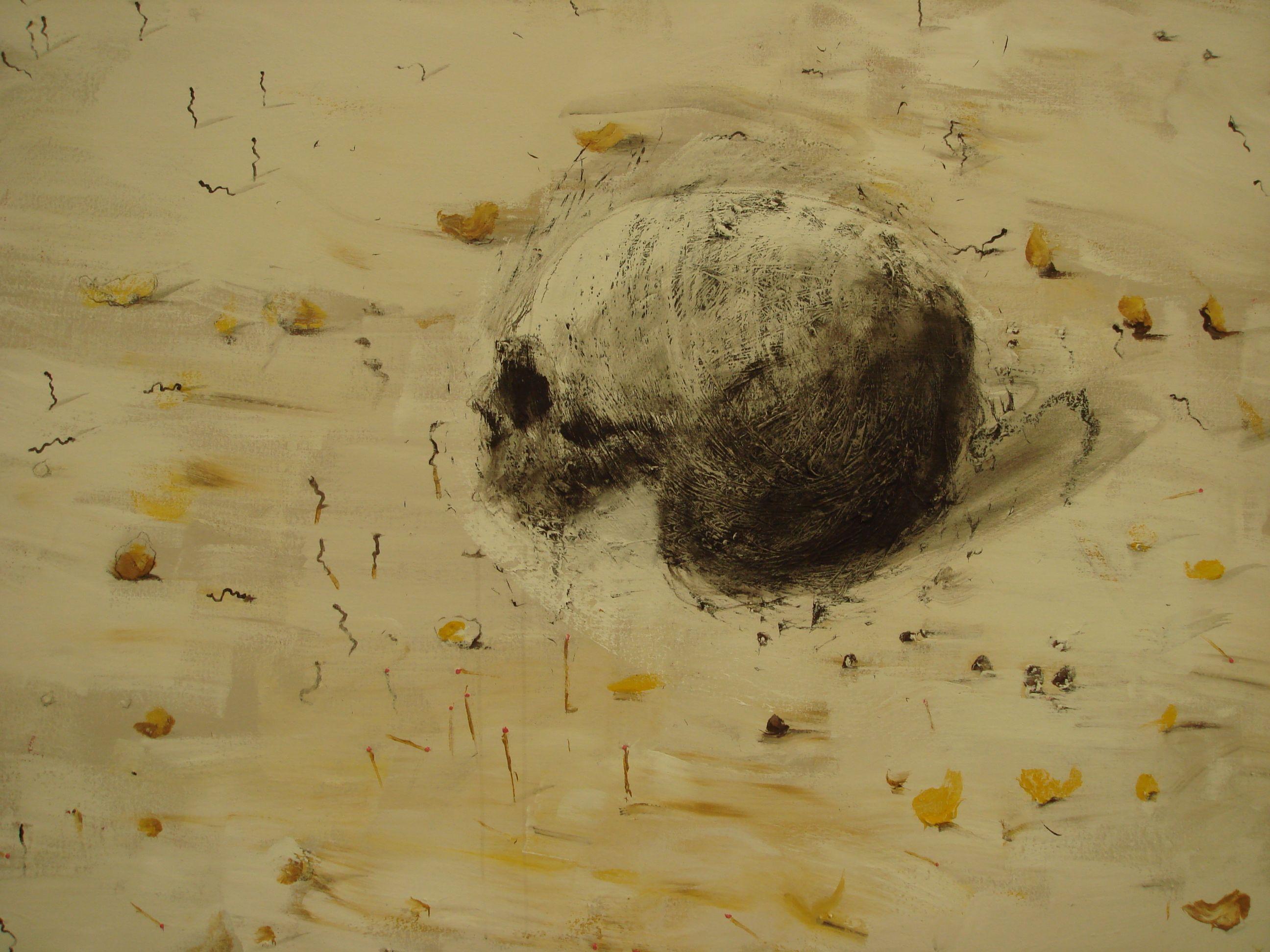 Miguel Barcelo Galerie Yvon Lambert Paris 2007 Art Painting Skull