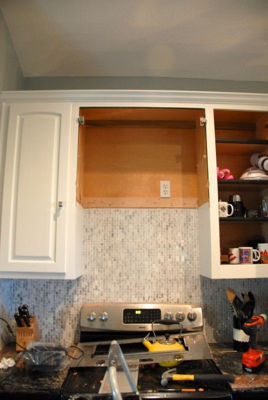Remodelaholic How To Diy A Custom Range Hood For Under 50 Custom Range Hood Kitchen Range Hood Range Hood