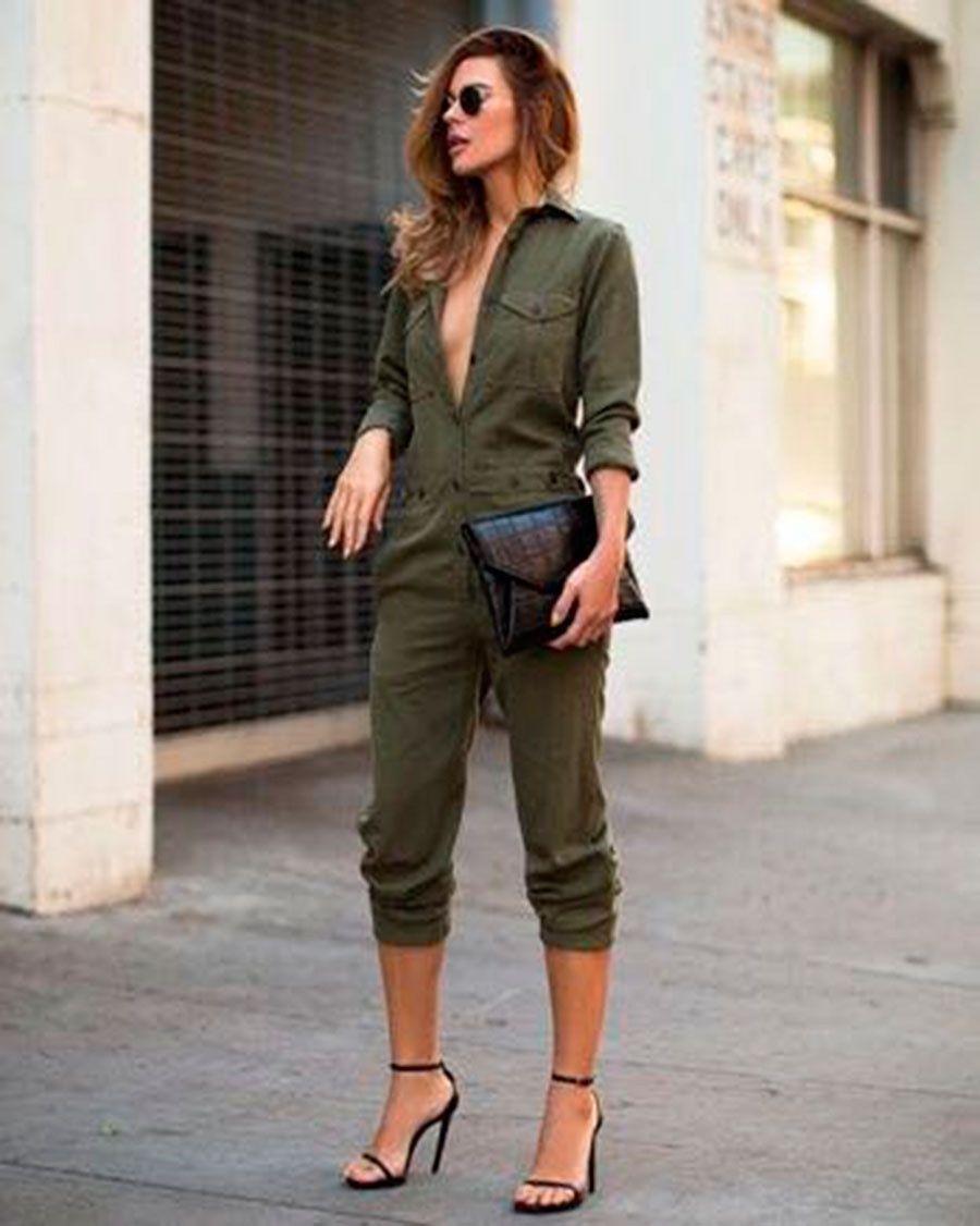 Tendência Verde Militar 2018 + 20 Looks Inspirador