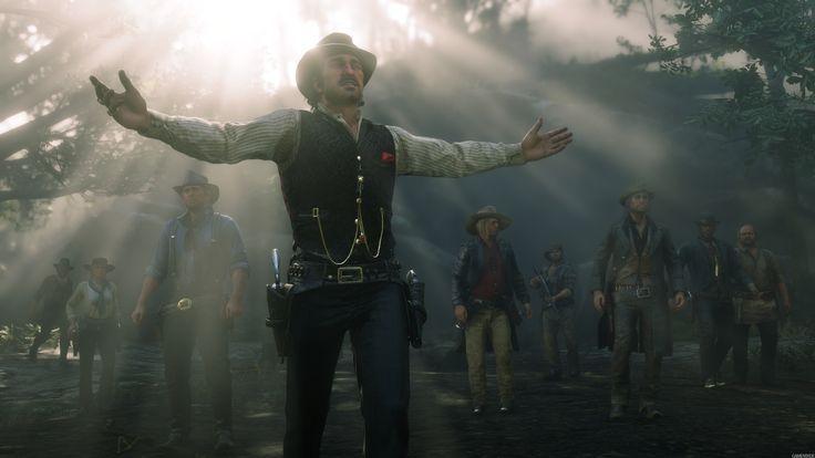 Red Dead Redemption 2 Uncle Sadie Adler Arthur Morgan Dutch Van