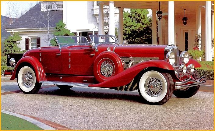 1929 Duesenberg Dual Cowl Phaeton