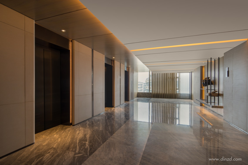 Pld刘波设计顾问有限公司 Lobby Reception Desk Design Design Consultant