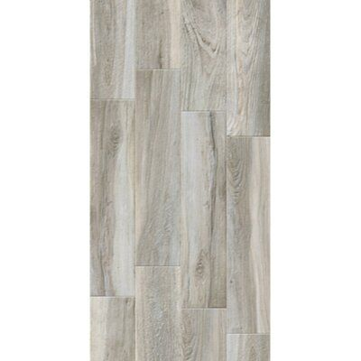 Tilemode Bungalow 9 X 40 Porcelain Wood Look Tile Color Matte