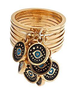 Blee Inara Evil-Eye Cluster Ring #maxandchloe