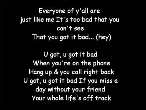 u got it bad lyrics