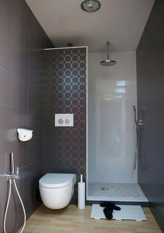 55 Amazing Tiny Bathroom Decor Design Ideas Small Bathroom Makeover Minimalist Small Bathrooms Small Bathroom