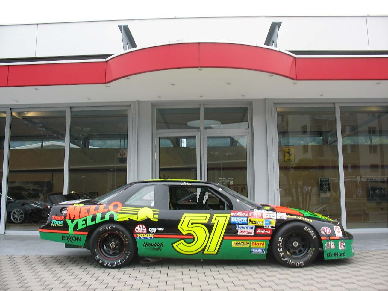 Chevrolet Lumina NASCAR sedan - Original Used car in the movie ...