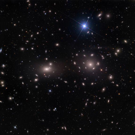 Colossal Coma Cluster of Galaxies Dominates Skywatcher PhotoCredit: Adam Block/Mount Lemmon SkyCenter/University of ArizonaAstrophotographer Adam Block captured this image of the Coma cluster, or Abell 1656, from Arizona's Mount Lemmon SkyCenter in February 2012