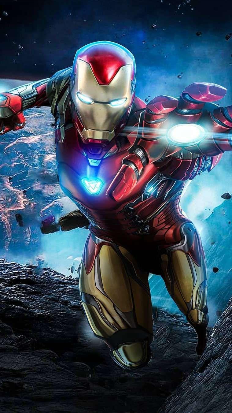 24+ Iron Man Endgame Armor Wallpaper PNG