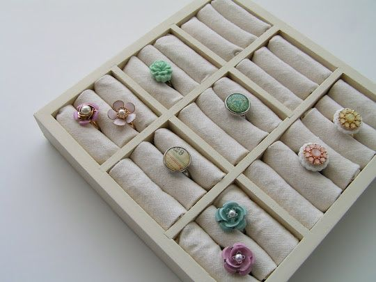 Diy Projects How To Make Ring Organizers