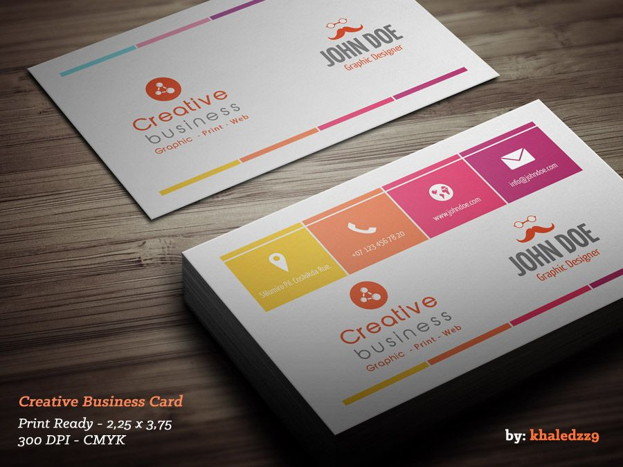 Creative Business Card by khaledzz9.deviantart.com | Business ...