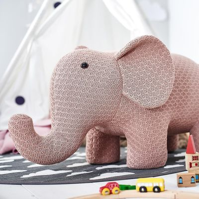 Hocker Elefant 95x34x47cm Altrosa Elephant Kids Room Sewing Projects