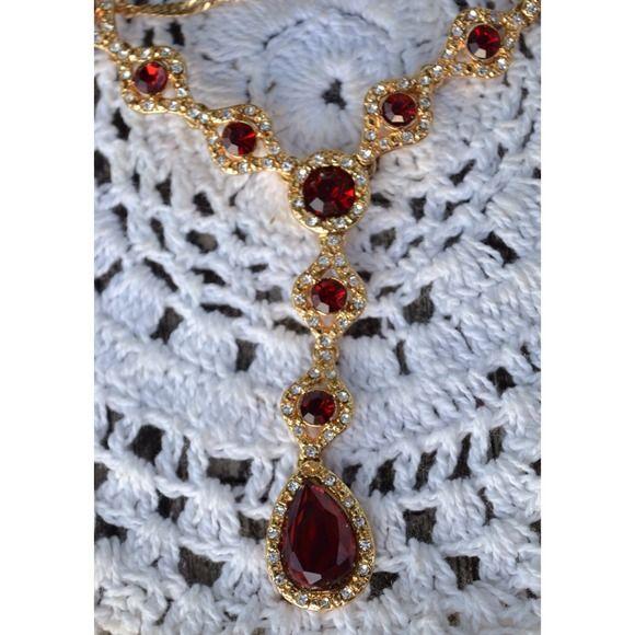 """Spotted while shopping on Poshmark: """"Elegant Curves Siam Y Necklace""""! #poshmark #fashion #shopping #style #Elegant Curves #Jewelry"""