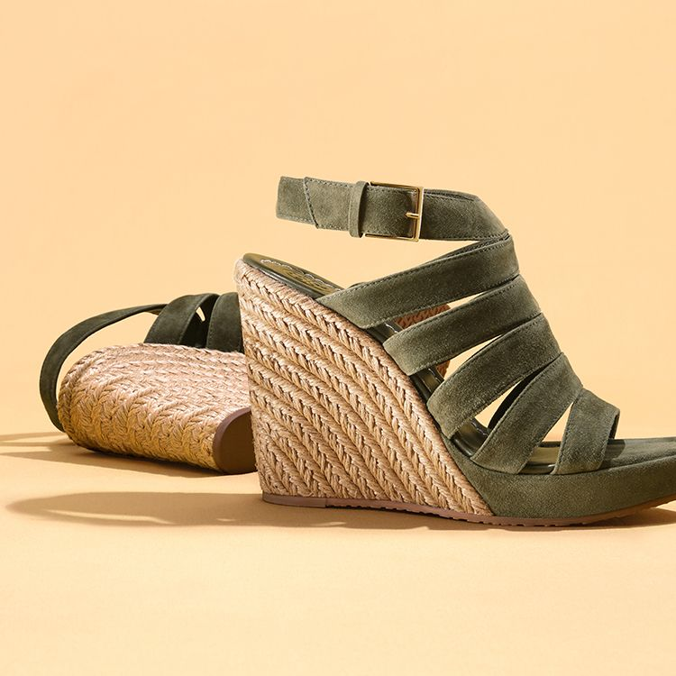 Bailey Multi-Strap Wedge Espadrille   Tory Burch Shoes