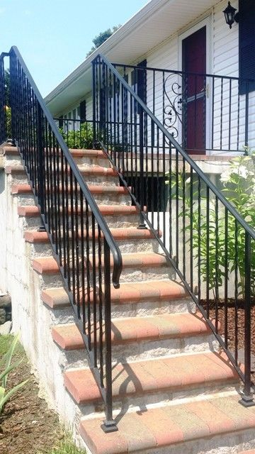 Wrought Iron Railing With Molded Top Rail Wrought Iron