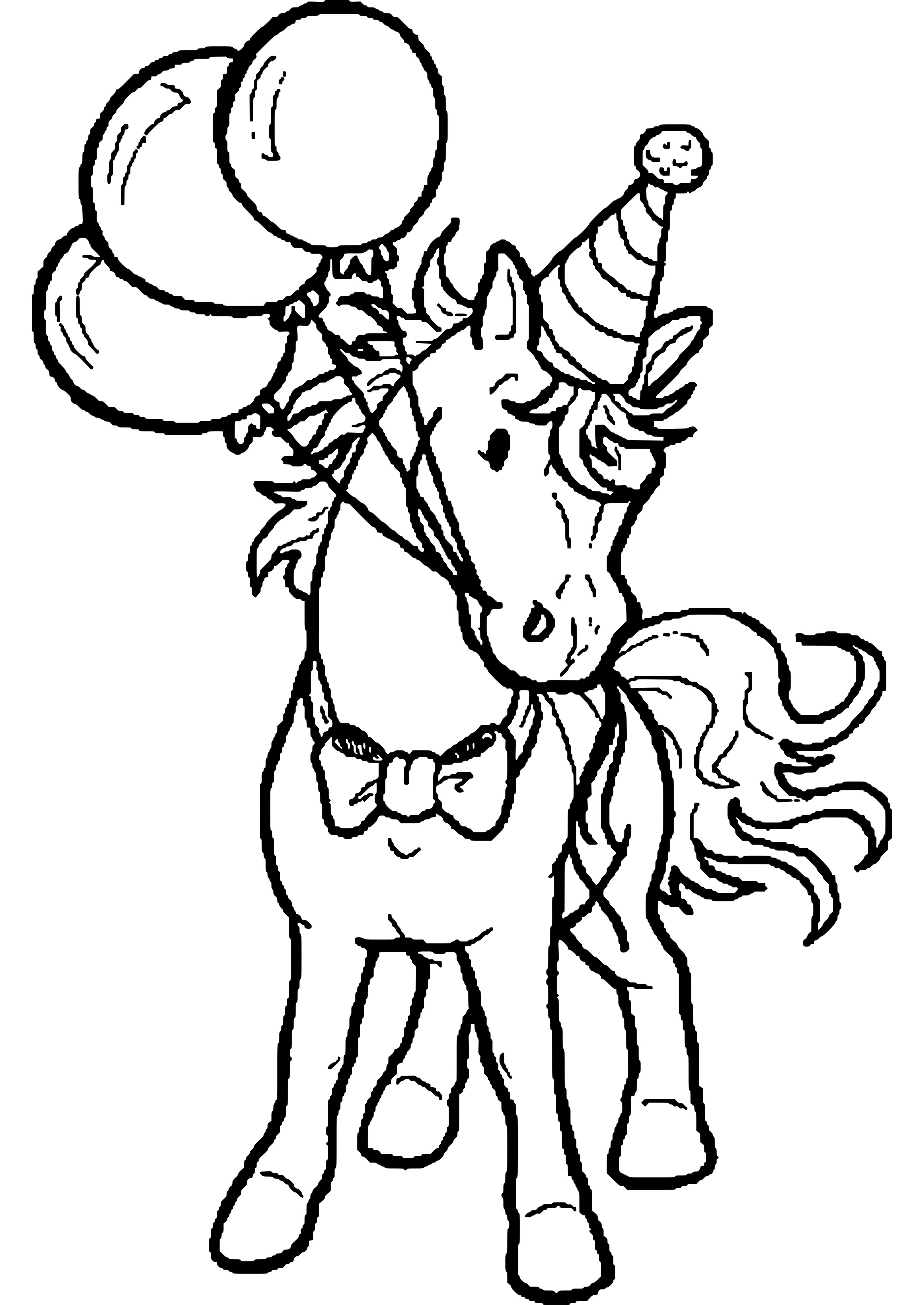 Ausmalbilder Pferde Geburtstag | Coloring Pages | Pinterest | Adult ...