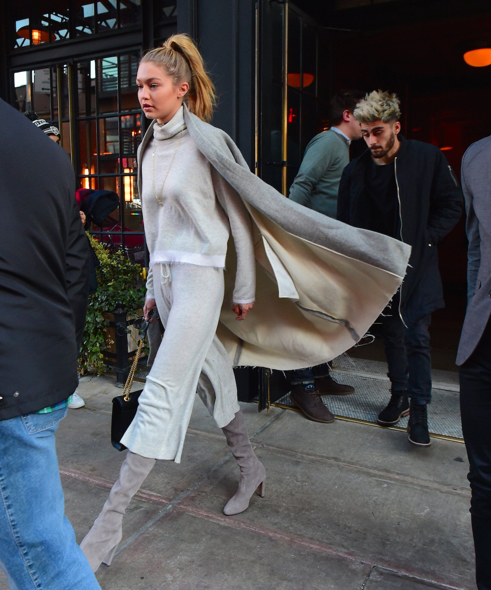Cropped Pants in Winter? Gigi Hadid Says Yes, You Can