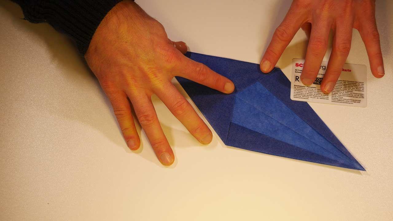 Weihnachtsstern Aus Transparentpapier Basteln Blau Transparentpapier Weihnachtsstern Und Basteln