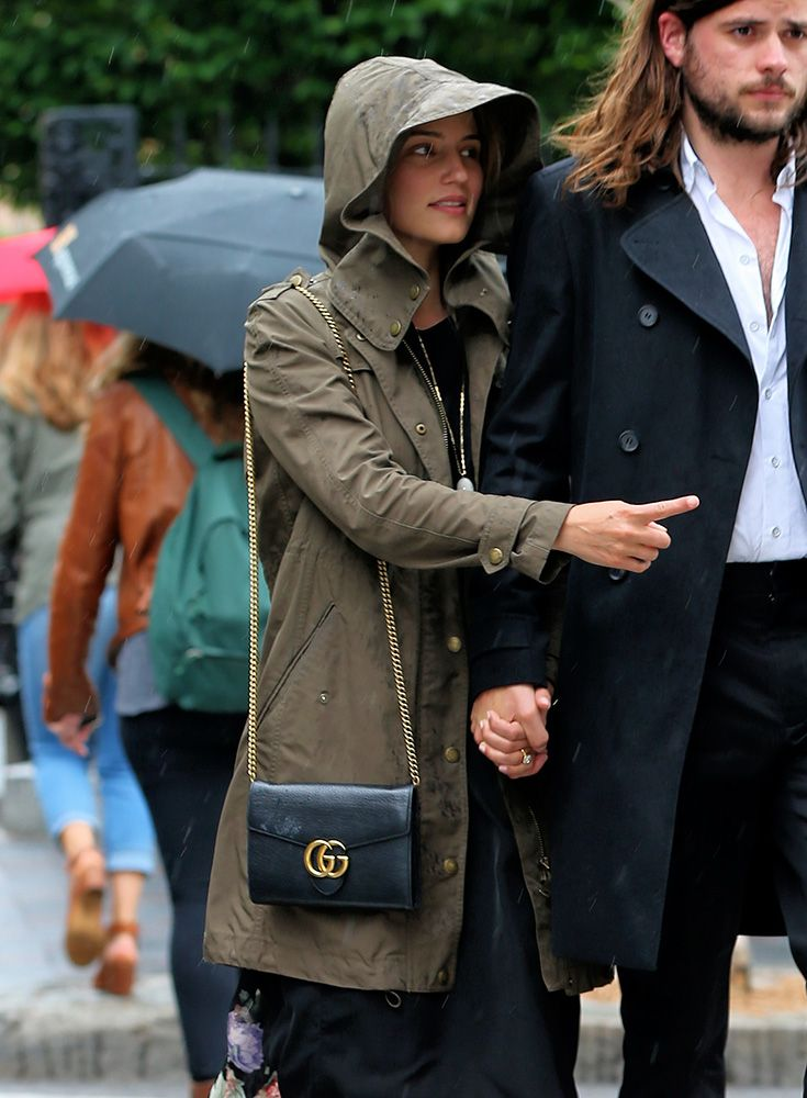 28975e939a70 dianna-agron-gucci-marmont-chain-wallet | Fashion - Accessories in ...