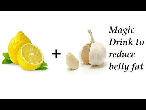Magic Drink To Lose Belly Fat In a WEEK