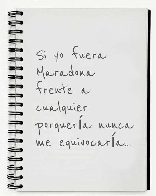 """Μετάφραση του """"Si yo fuera Maradona"""" από Manu Chao από ..."""