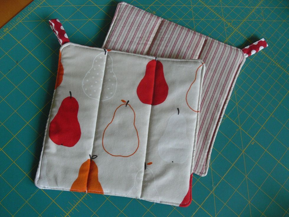 Jenny-pot-holders-20 | sewing | Pinterest | Laute, Schöne Dinge und ...
