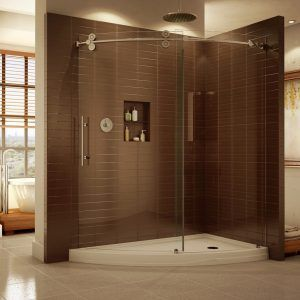 Shower Curtain For Enclosure