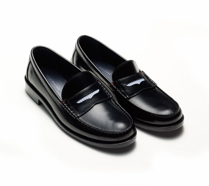 Patent Leather Penny Loafers - Sales Up to -50% Tommy Hilfiger HmVxX46