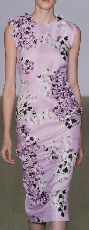 ♔ Giambattista Valli at PFW Spring 2014
