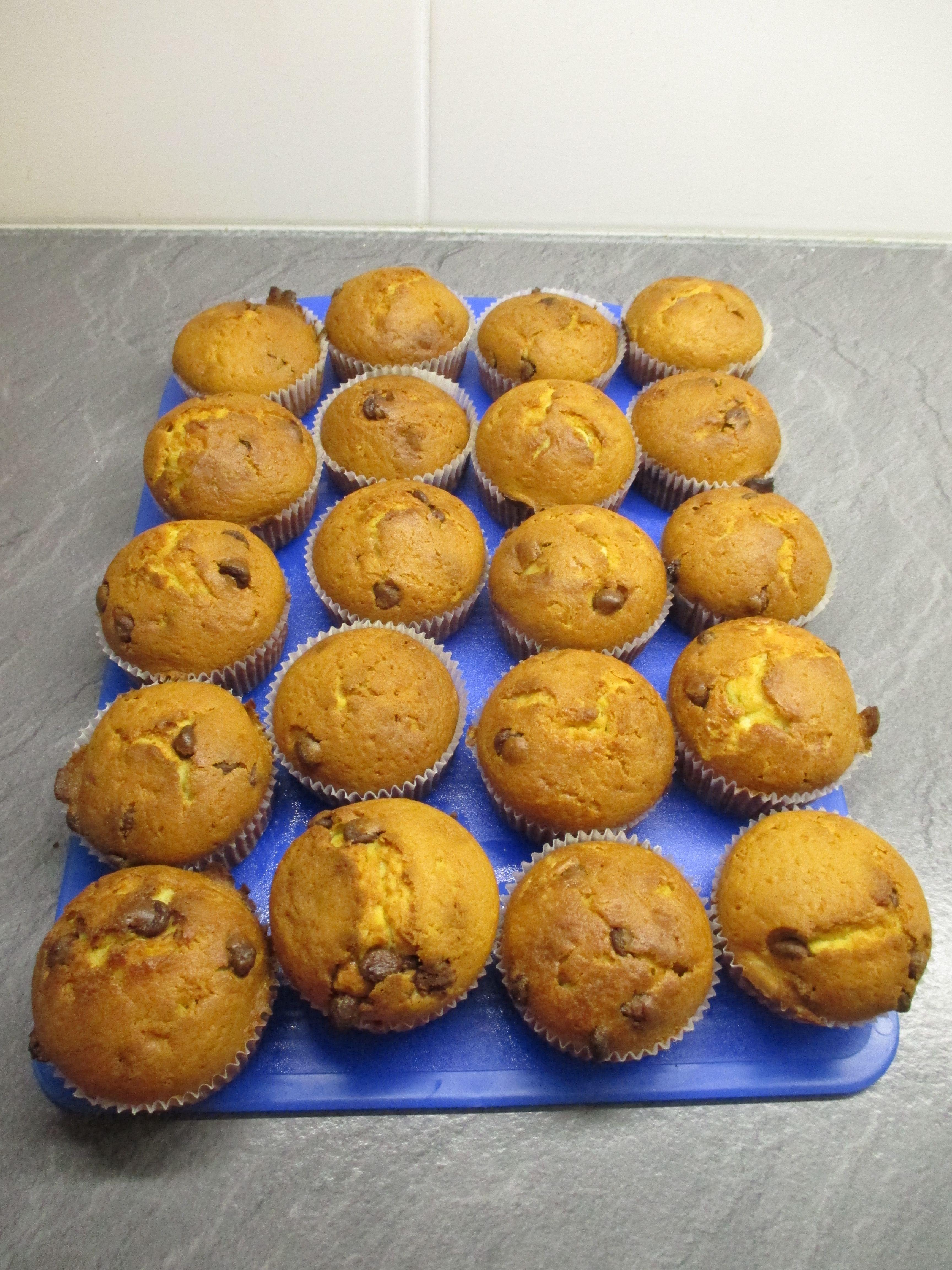 suklaa hippu muffinit