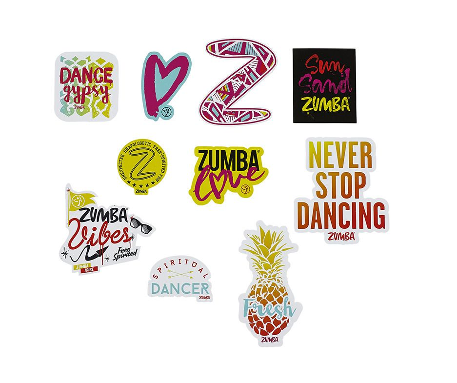 Dance gypsy bag of stickers 10pk multi