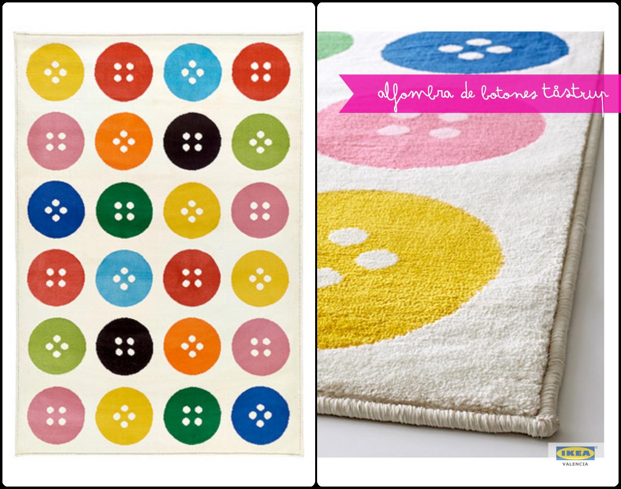 Alfombra De Botones Multicolor Tastrup 39 99
