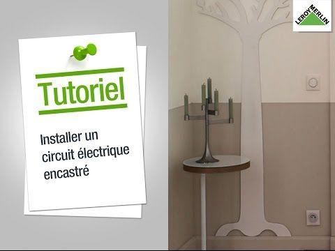 Comment Installer Une Boite De Derivation Circuit Electrique Electrique Leroy Merlin