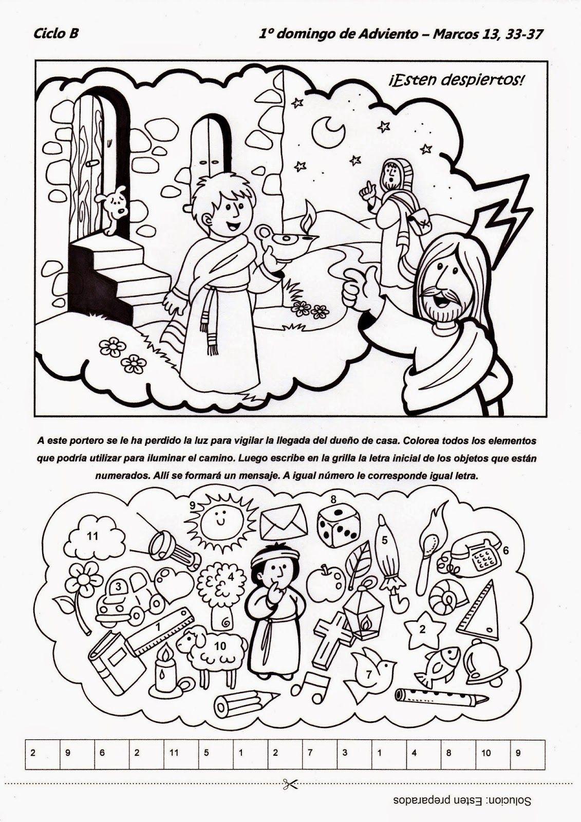 El Rincón de las Melli: 1º domingo de Adviento - CICLO B | religión ...