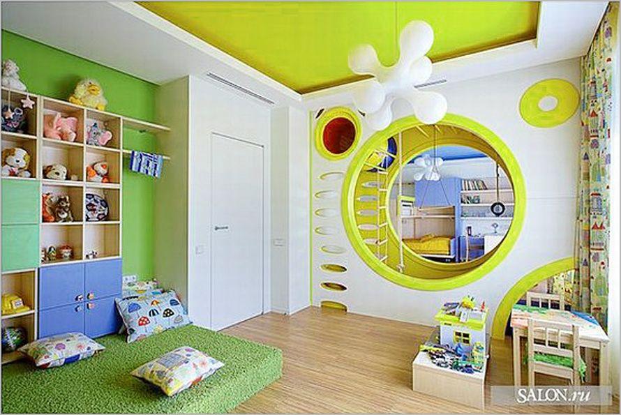 Good Playroom Design Ideas Playful Yellow Room, Photo Playroom Design