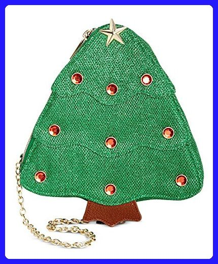 celebrate shop womens christmas tree crossbody handbag green crossbody bags amazon partner link - Christmas Tree Bags Amazon