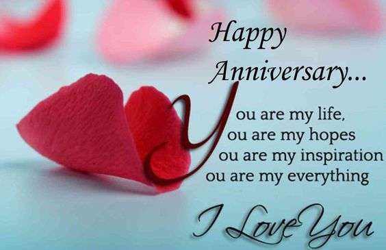 Happy anniversary quotes and messages for her happy anniversary