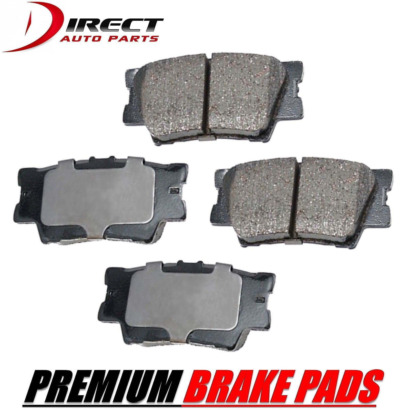 Cool great toyota premium rear brake pads for toyota rav4 2006 cool great toyota premium rear brake pads for toyota rav4 2006 2016 2017 2018 fandeluxe Choice Image