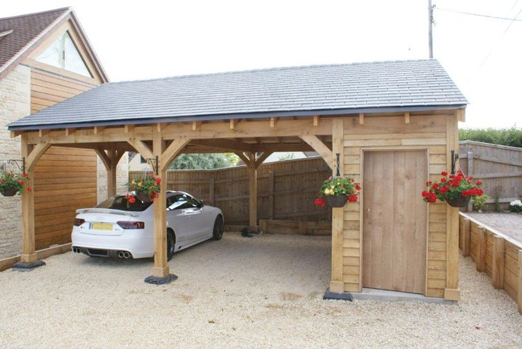 SolidLox Timber Carports Project Gallery