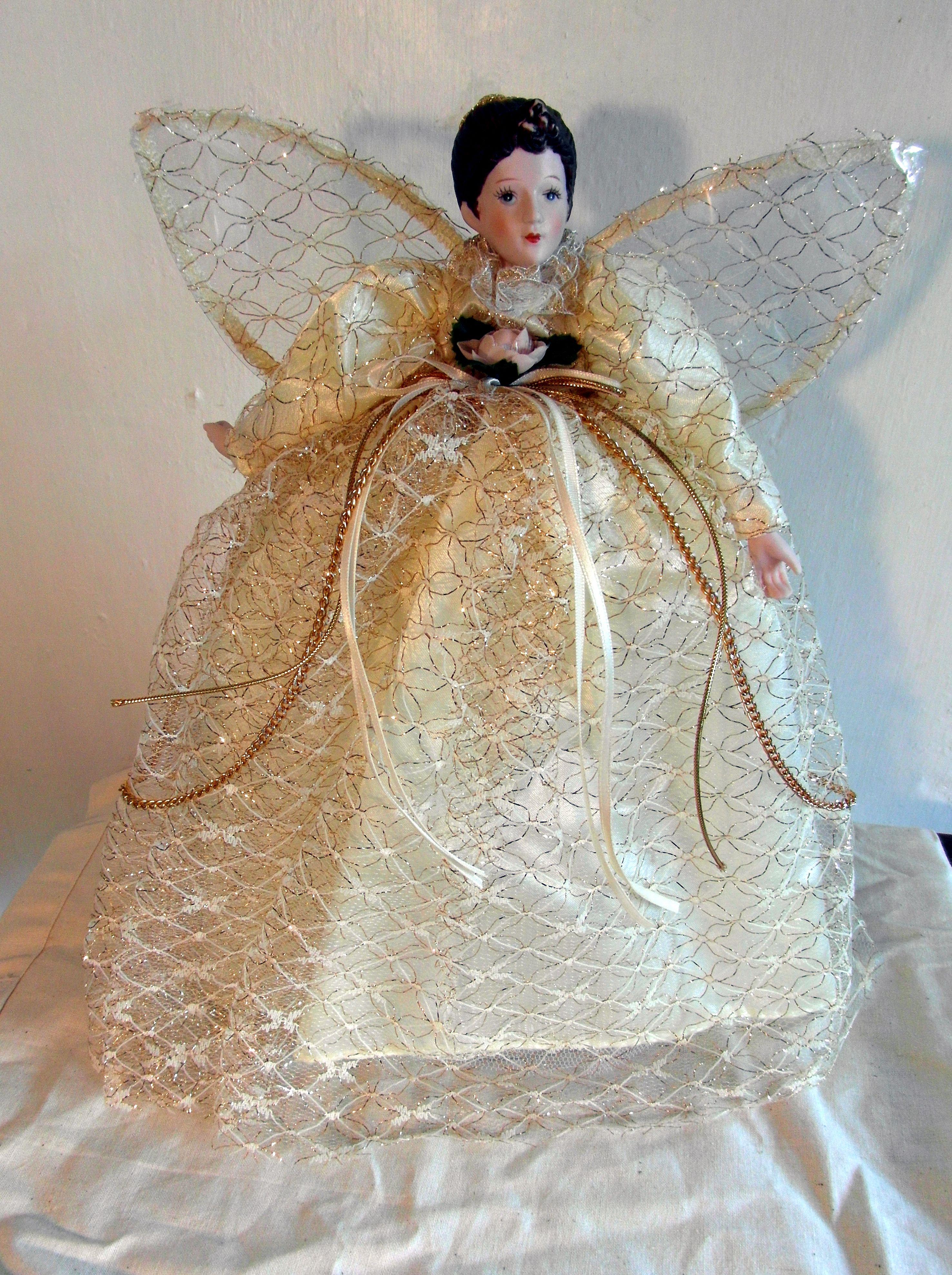 Vintage S Christmas Tree Fairy