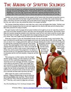 the making of spartan soldiers reading primary sources ancient greece and gauges. Black Bedroom Furniture Sets. Home Design Ideas