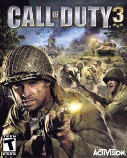 Call Of Duty 3 Call Of Duty Activision Wii Games
