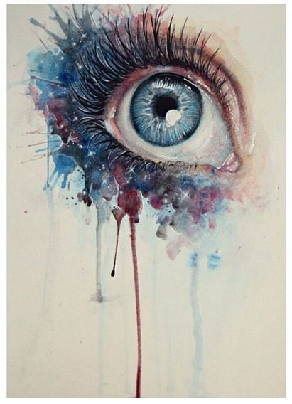 Abstract Eye Painting Drawing I Love This Eye Art