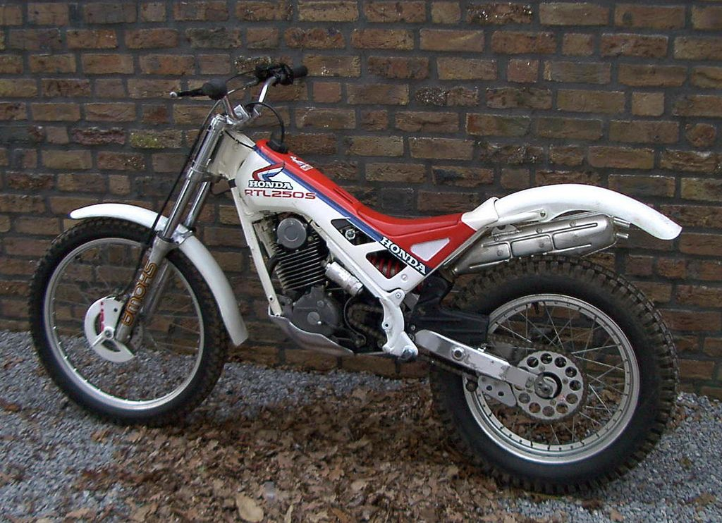 2018 honda rtl 250s i bought mine in ca 1989 probably the best trials bike of that time it. Black Bedroom Furniture Sets. Home Design Ideas