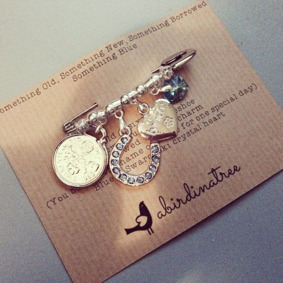 Bridal Charm Pin By A Bird In A Tree