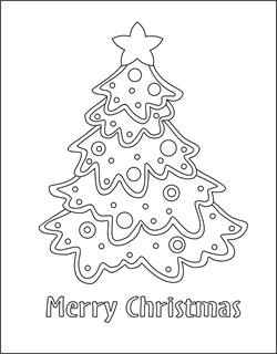 Coloring Christmas Tree Coloring Pages Christmas Tree Coloring Page Tree Coloring Page Christmas Tree Template