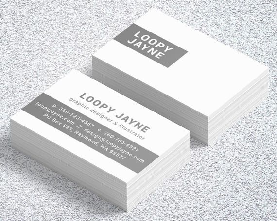 Adobe illustrator digital business cards template customizable adobe illustrator digital business cards template customizable modern classy business card loopy flashek Image collections
